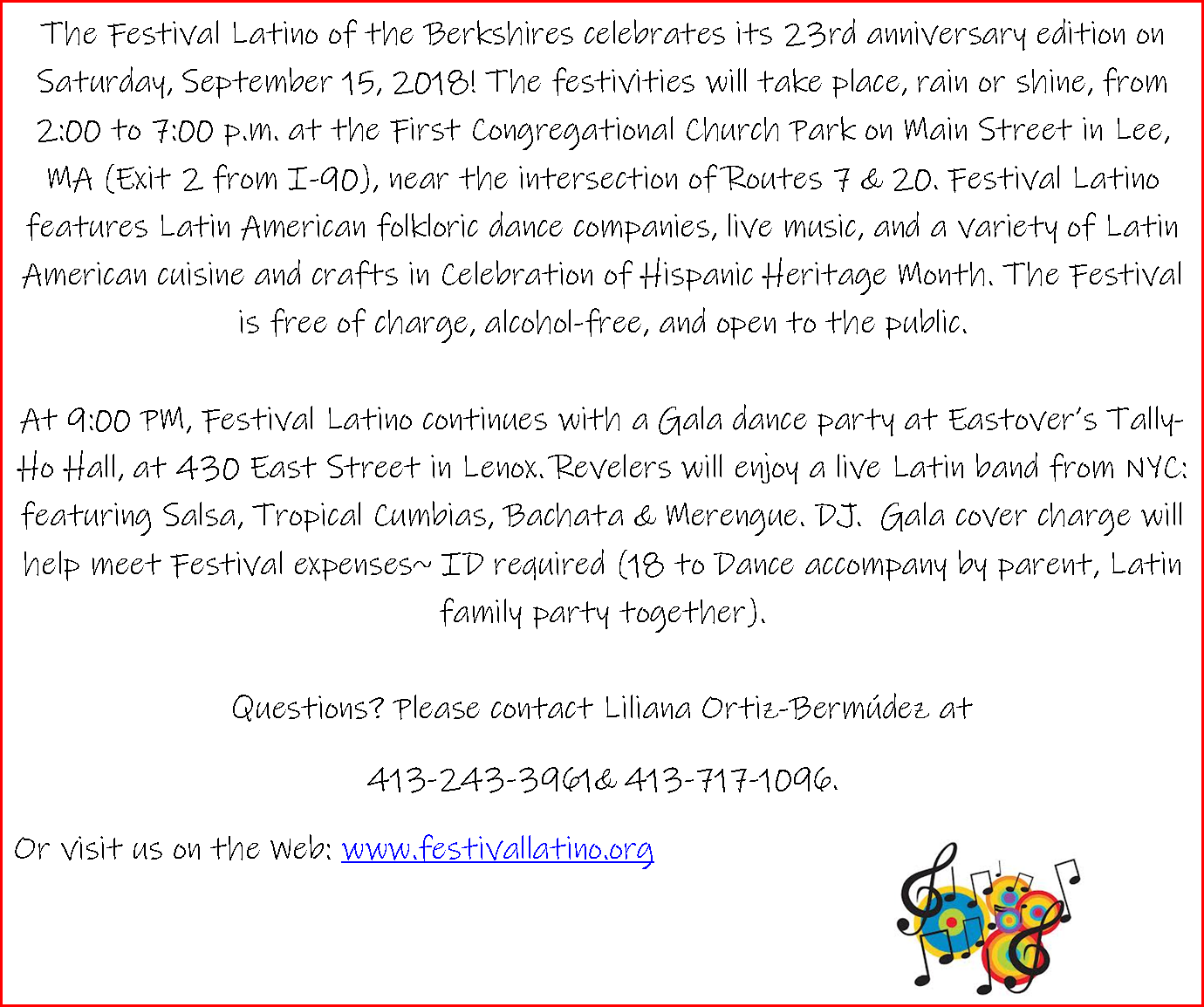 Latino Festival of the Berkshires
