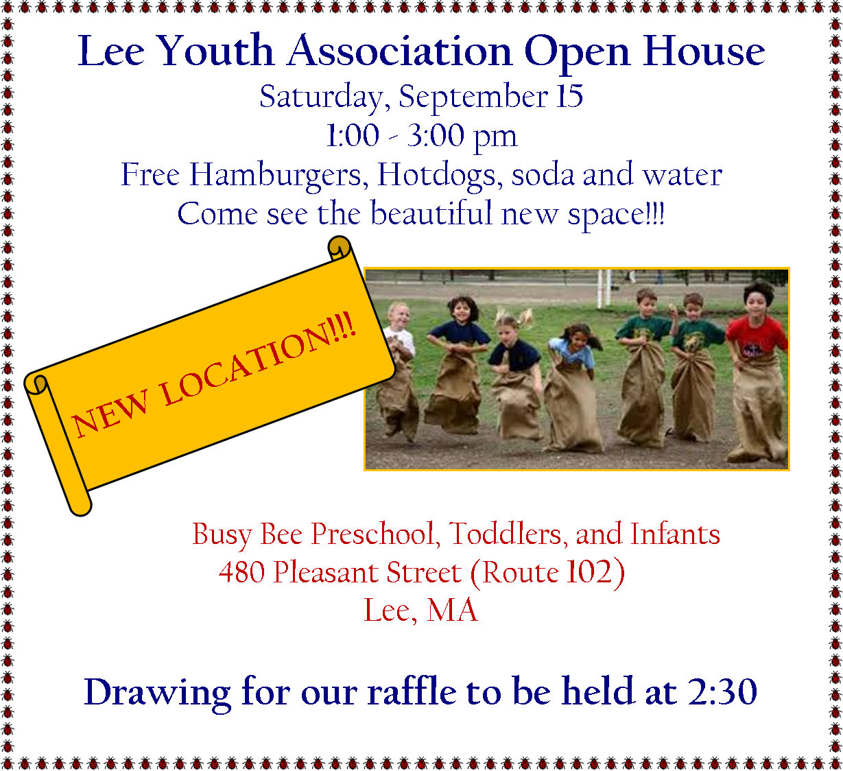 Lee Youth Association Open House