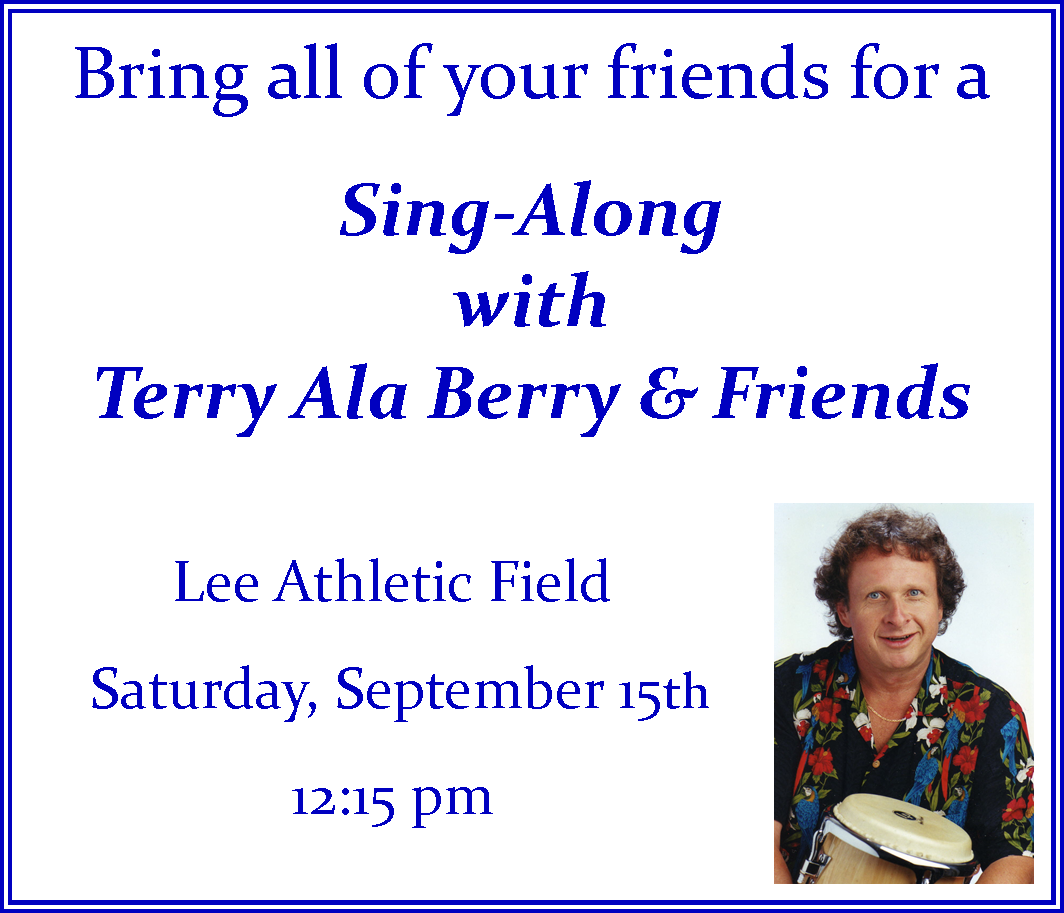 Terry ala Berry Sing-Along