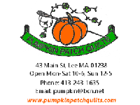 Pumpkin Patch Quilts