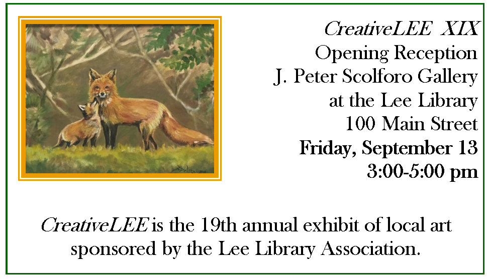 Creative LEE Art Exhibit